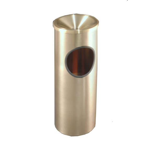 Funnel Top Satin Brass