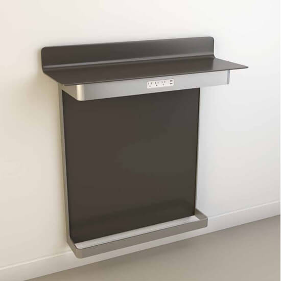 Wall Mount Footrest : Go to wall mount with footrest t site amenities