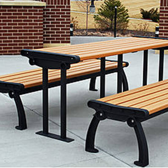 Lincolnshire Picnic Table Amp Bench T2 Site Amenities