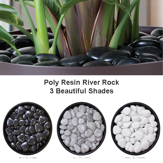 Resin River Rock