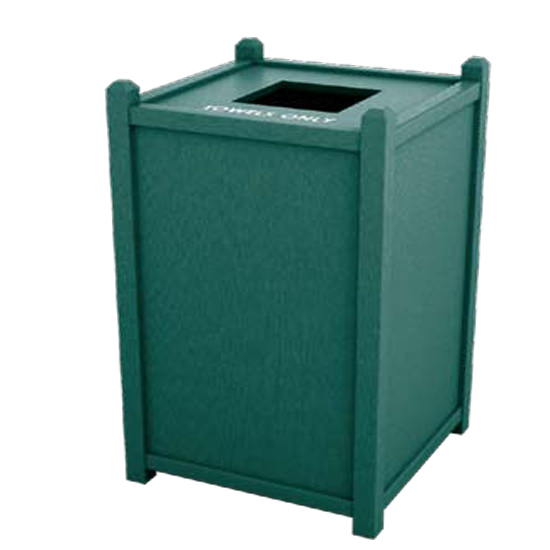 Aruba single top load waste receptacle