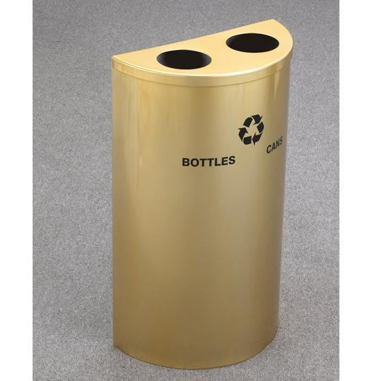 Geneva Satin Brass Recycler