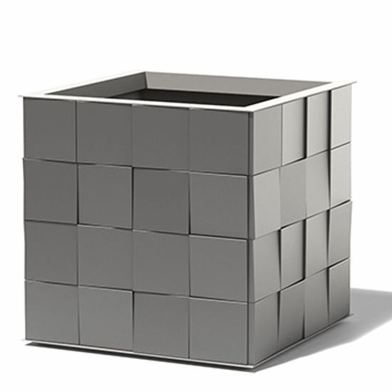 3D Aluminum Cube