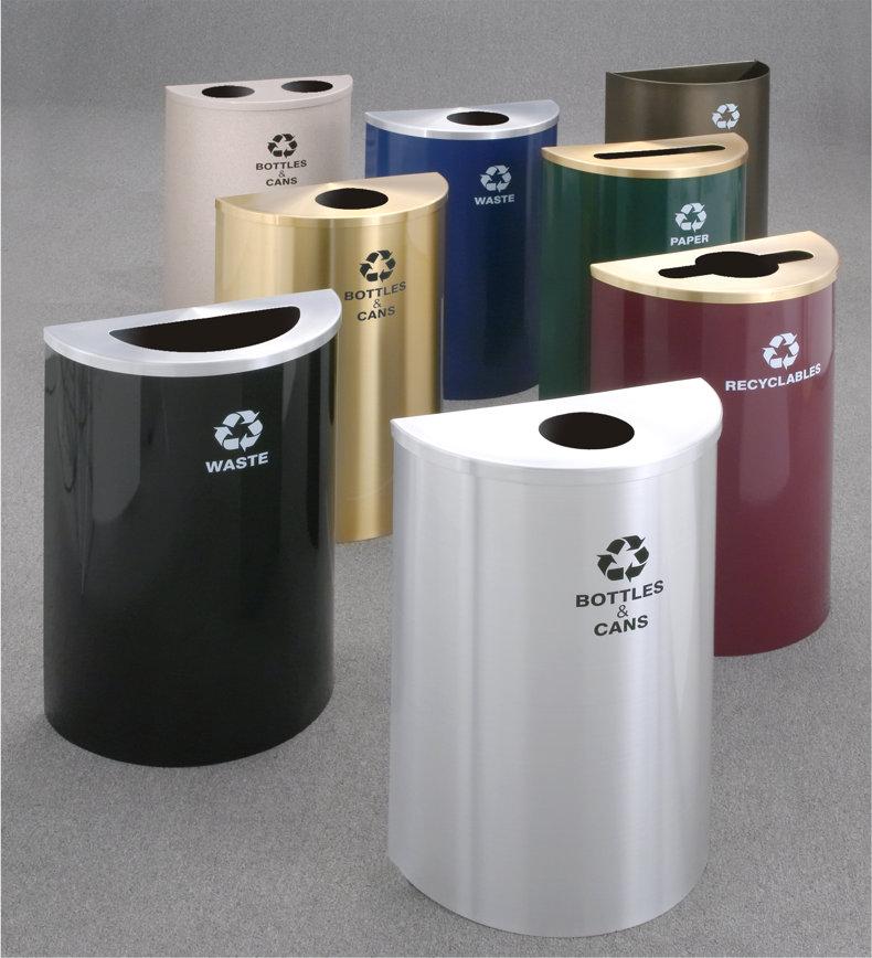 Geneva Half Round Recycling