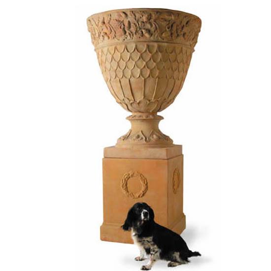 Oakley Urn & Pedestal
