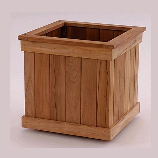 Teak Wood Cube