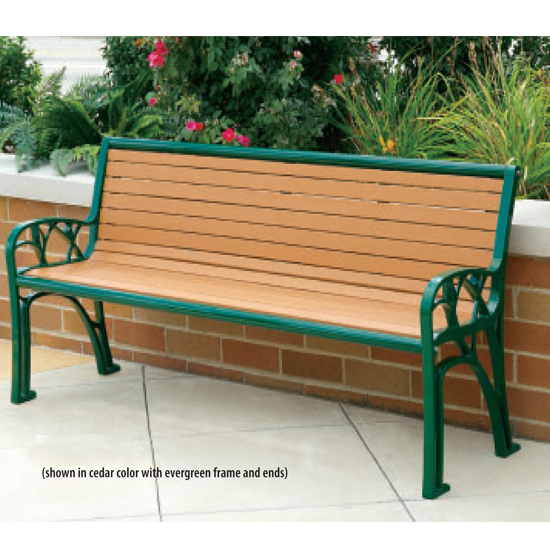 Stainless Steel Amp Composite Wood Benches T2 Site Amenities