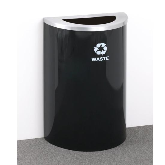 Geneva Black Satin Recycling