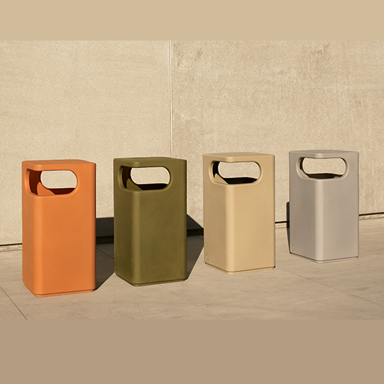 Poly Resin Amp Outdoor Trash Receptacles T2 Site Amenities