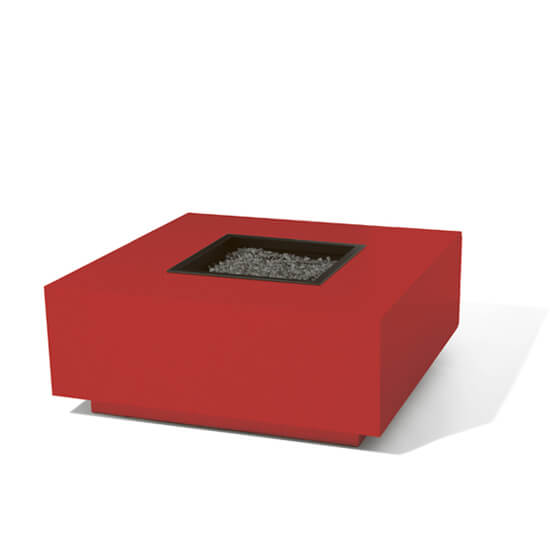 Red Block Firepit