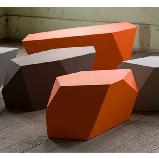 Rock Element Tables and Stools