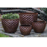 Maple Red planter set