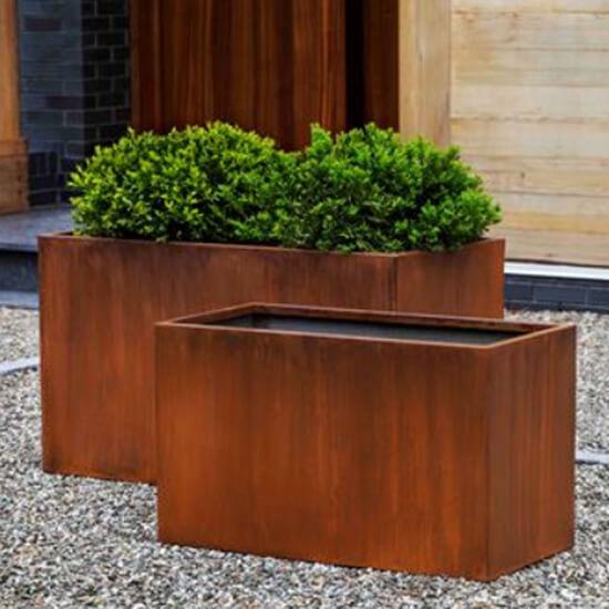 Steel Long Planter Boxes